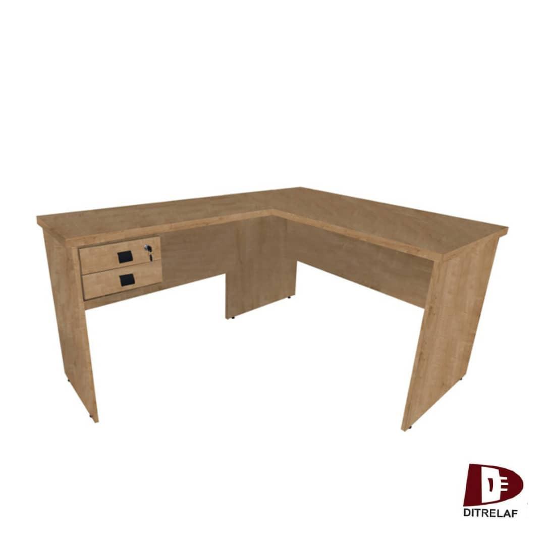 Mesa kit Eco em L