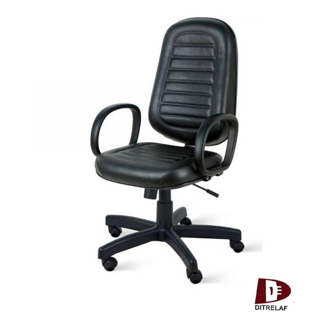 Cadeira Giratória Presidente Com Costura